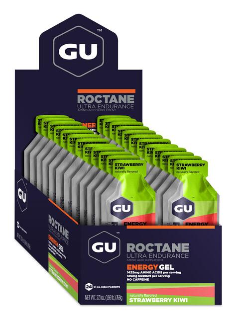 GU Energy Roctane Energy Gel Box Strawberry Kiwi 24 x 32g